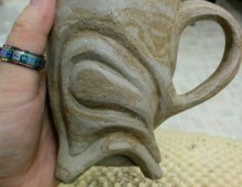 Carved Cup In Progress
