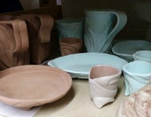 Pottery Waiting for the Kiln
